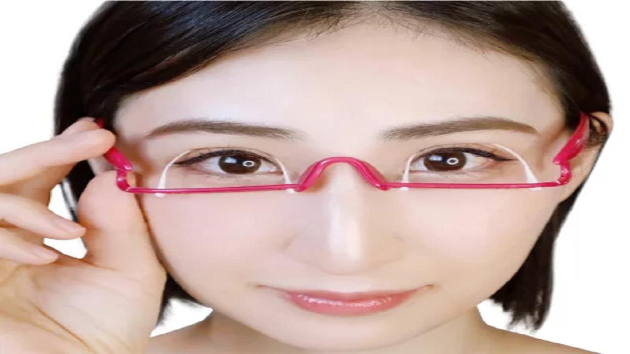 二重 メガネ